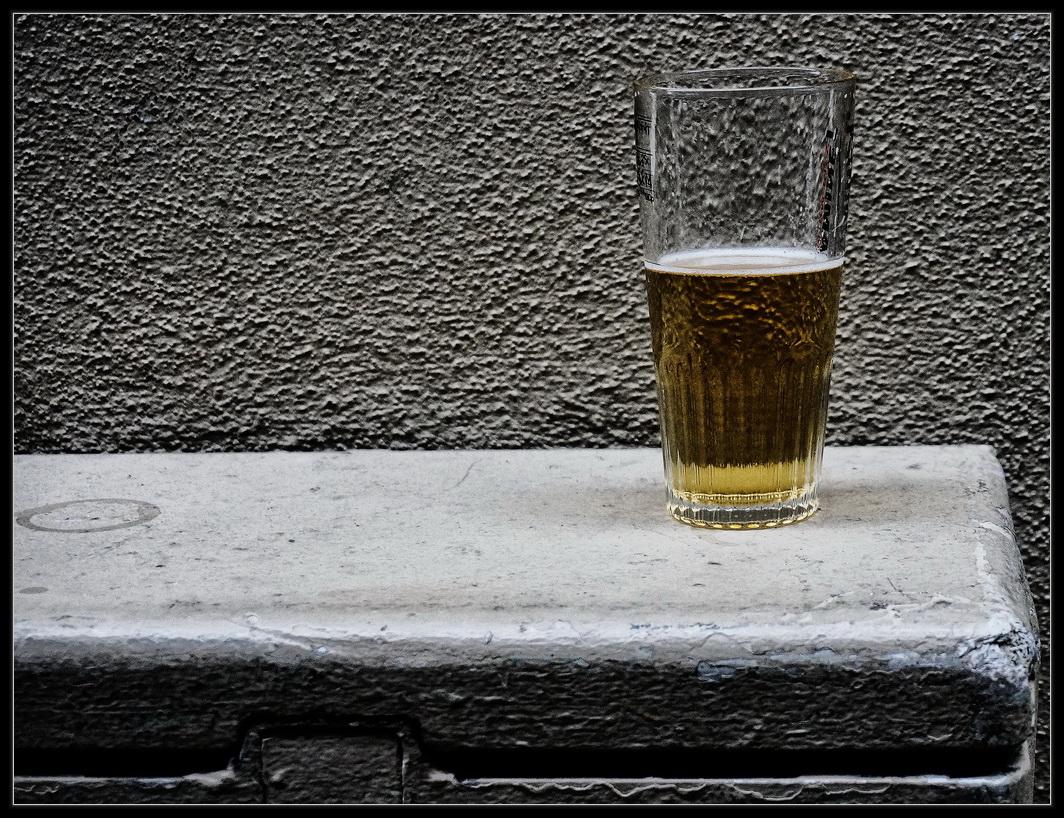 Физические страдания алкоголика